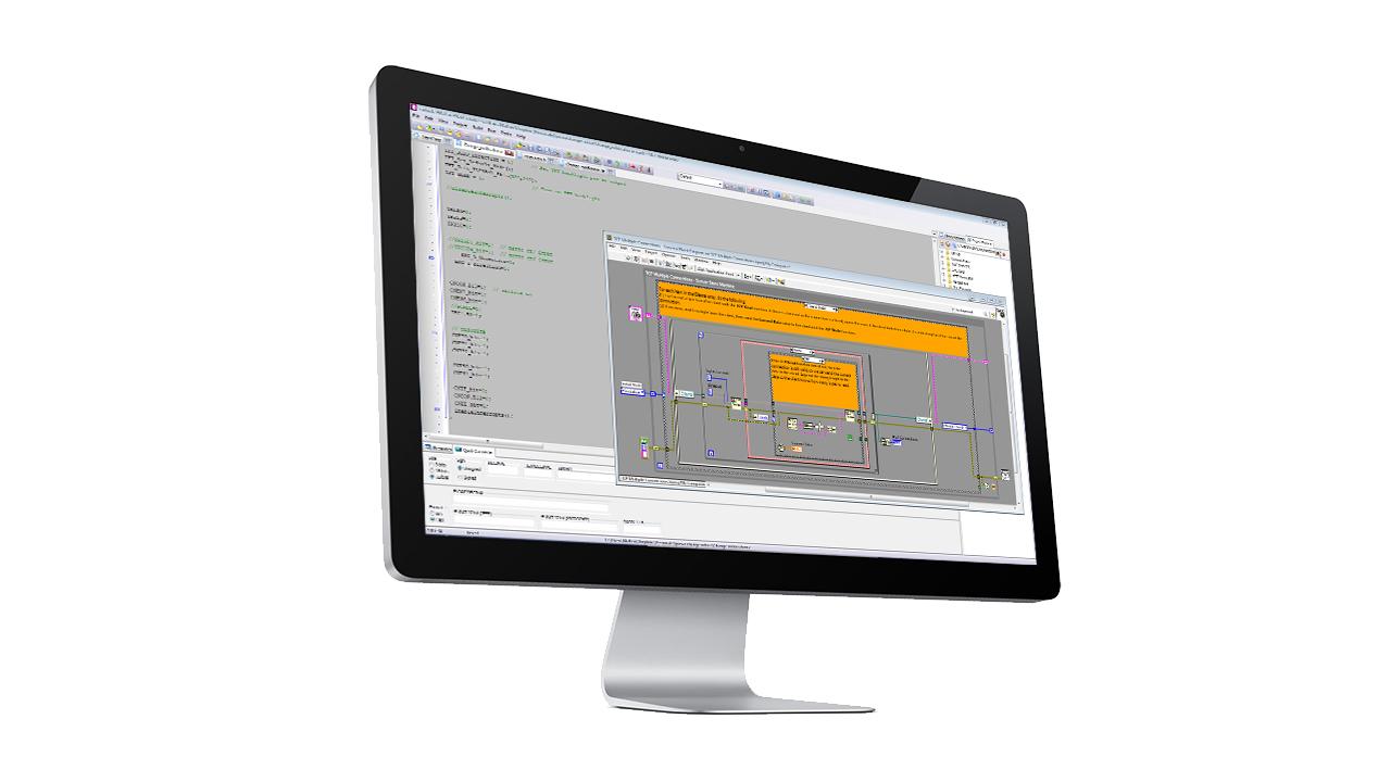 Software NI National Instruments Labview MCCDAQ EN1317 prEN16303 Software Acquisizione Dati